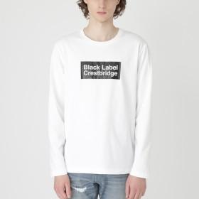 [マルイ] ボックスロゴプリントカットソー/ブラックレーベル・クレストブリッジ(BLACK LABEL CRESTBRIDGE)