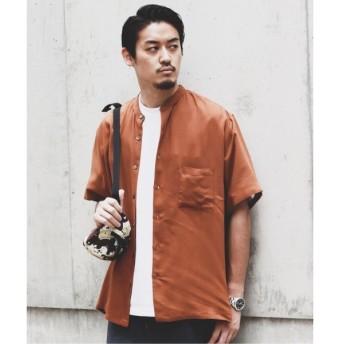 [マルイ]【セール】メンズシャツ(Vi/PL CROSS バンドカラー ハーフスリーブ シャツ)/ジャーナルスタンダード(メンズ)(JOURNAL STANDARD MEN'S)