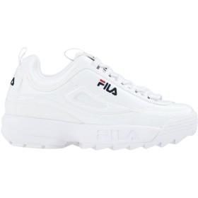《セール開催中》FILA HERITAGE レディース スニーカー&テニスシューズ(ローカット) ホワイト 7 紡績繊維 V94M R low