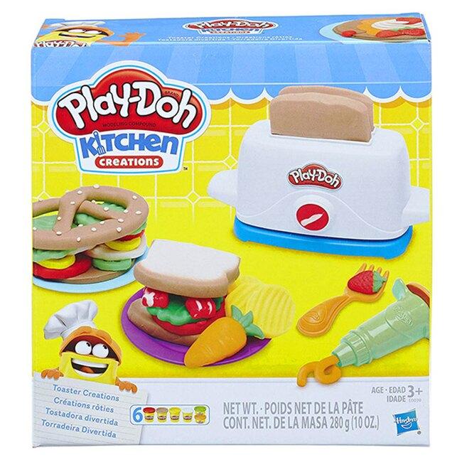 【Play-Doh 培樂多】廚房系列-創意吐司 HE0039AS00
