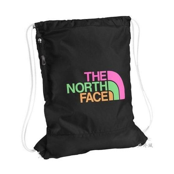 The North Face 12L 多功能背袋 黑色/彩色LOGO