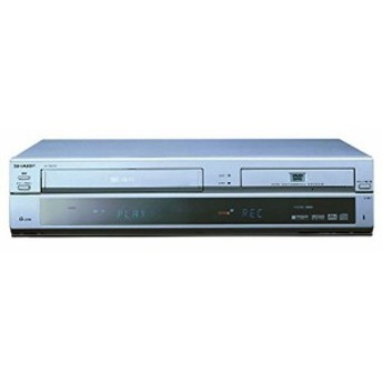 VHSビデオ一体型DVDレコーダー DV-RW100 シャープ(中古品)