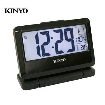KINYO 大字幕LCD多功能電子鐘(TD-391)