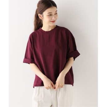 Spick and Span 【CAMBER】 MW クルーTシャツ ボルドー フリー