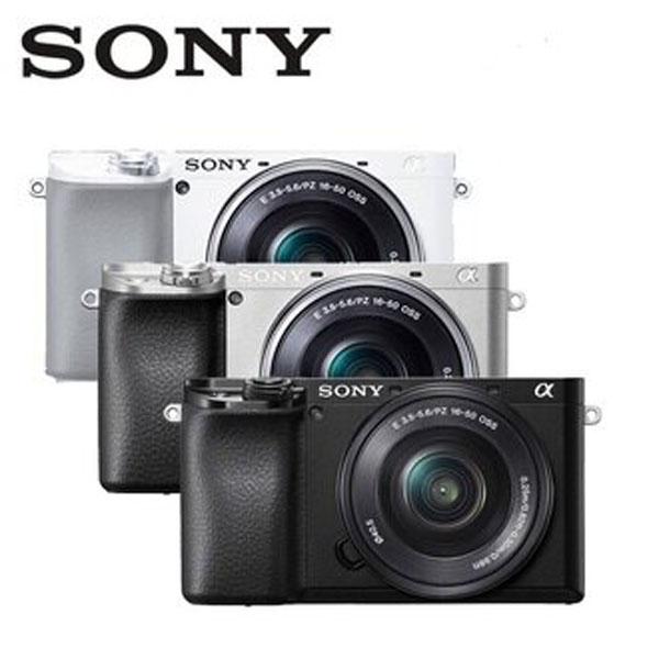 SONY A6100L 單鏡組(公司貨) ILCE-6100L 微單眼限量送電池+32G高速卡+座充+吹球清潔組+保護貼