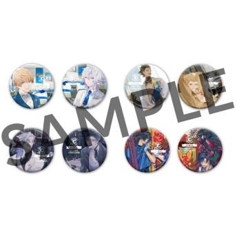 【グッズ-バッチ】Fate/Grand Order HOTEL CHALDEA トレーディング缶バッジ