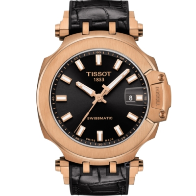 TISSOT T-RACE 天梭競速時尚機械錶(T1154073705100)