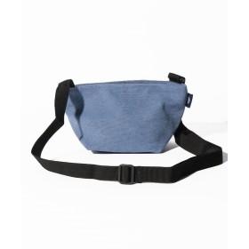 シンシア 〈MAKE UP/メイクアップ〉Earth Color Bag/アースカラー帆布 舟形ショルダーバッグ ユニセックス ブルー ONE SIZE 【Sincere】