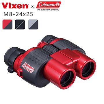 VIXEN 8-24倍 變焦型望遠鏡(M8-24x25 黑)