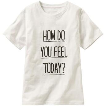 50%OFF【レディース】 プリントTシャツ - セシール ■カラー:オフホワイト ■サイズ:M,S