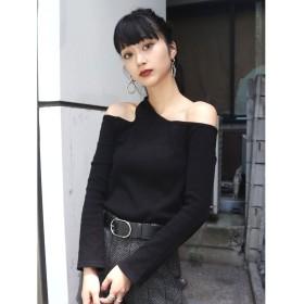 エモダ カッティングフィットロンT レディース ブラック F 【EMODA】