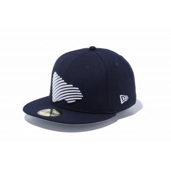 NEW ERA ニューエラ 59FIFTY ジオウェーブフラッグ ネイビー × スノーホワイト ベースボールキャップ キャップ 帽子 メンズ レディース 7 1/2 (59.6cm) 12109120 NEWERA