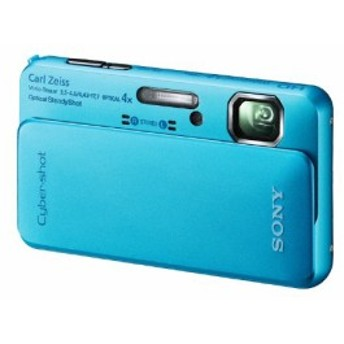 ソニー SONY デジタルカメラ Cybershot TX10 1620万画素CMOS 光学x4 ブル (中古品)