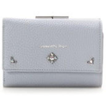 【Samantha Vega:財布/小物】シンプルビジュー折財布
