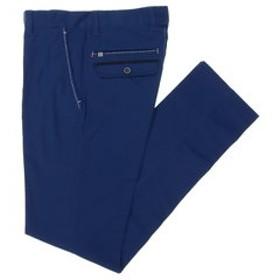 【GRAND-BACK:パンツ】【大きいサイズ】VAGIIE (バジエ)カラーストレッチ綿パンツ