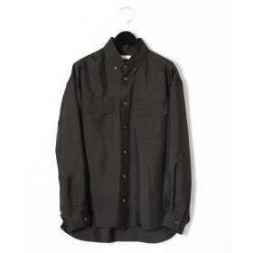 GRACE CONTINENTAL(グレースコンチネンタル)/シルクボタンダウンシャツ