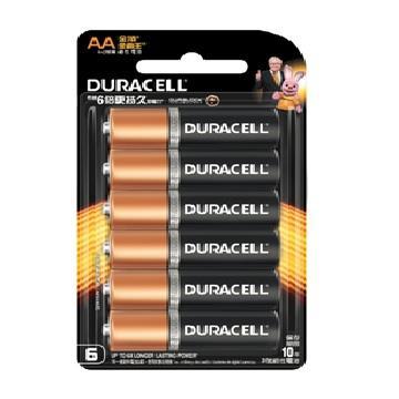 金頂DURACELL 金霸王鹼性電池3號4+2入(AA)