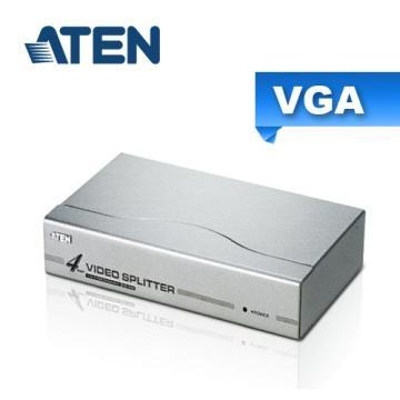 ATEN 4埠 VGA 螢幕分配器(VS94A)