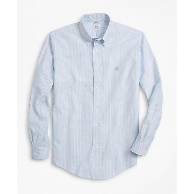 <ブルックス ブラザーズ/BROOKS BROTHERS> 【紳士大きいサイズ】長袖ボタンダウンシャツ LT BLUE 【三越・伊勢丹/公式】