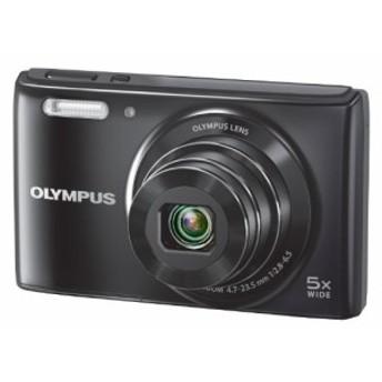 オリンパス コンパクトデジタルカメラ STYLUS VGー180 ブラック(中古品)