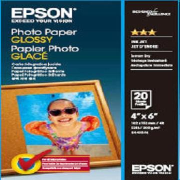 愛普生EPSON 4x6 超值光澤相紙(C13S042546)