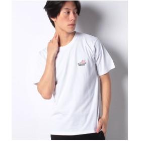 WEGO WEGO/コンバースワンポイントシューズ刺繍Tシャツ(ホワイト系)【返品不可商品】