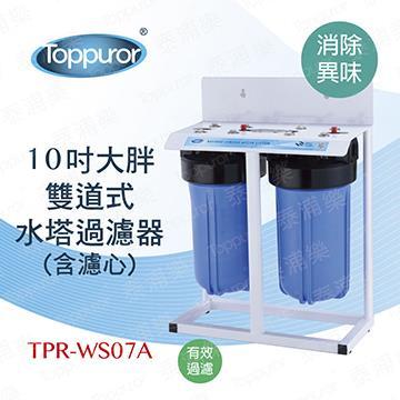 泰浦樂 10吋雙道大胖淨水器(TPR-WS07A)