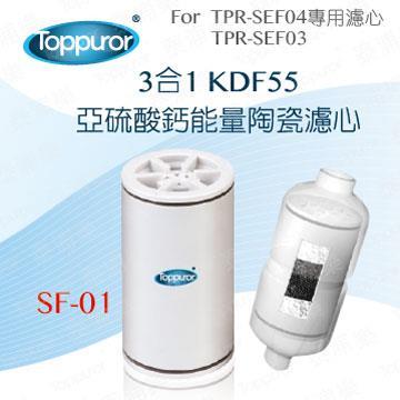 泰浦樂 3合1陶瓷沐浴用濾心(SF-01)