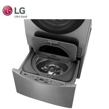 LG TWINWash雙能洗 -2公斤mini洗衣機 WT-D200HV(銀)(WT-D200HV(銀))