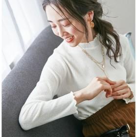 [マルイ] 起毛素材メロウネックプルオーバー/ベルーナ プラス(BELLUNA)