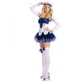 送料無料 ハロウィン コスチューム コスプレ 仮装 レディース 大人用 セーラー服 制服 スクール 水軍