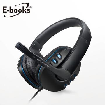 E-books S93 藍翼頭戴式耳機麥克風(E-EPA187)