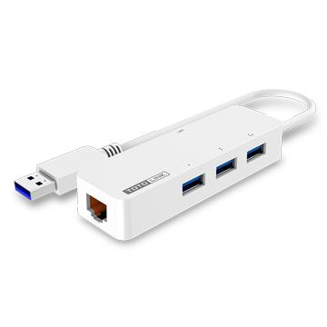 TOTOLINK USB3.0轉RJ45 外接網卡集線器(U1003)
