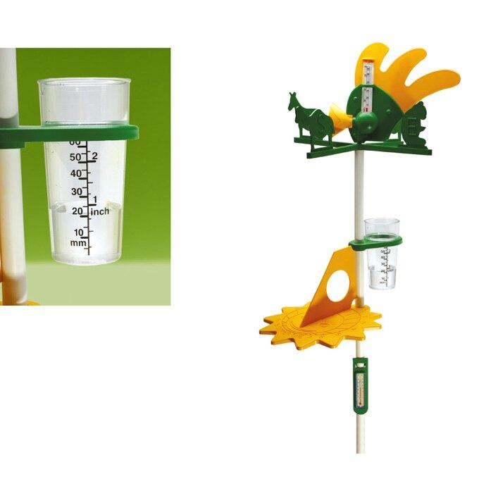 【華森葳兒童教玩具】科學教具系列-立式氣象站 N1-0301