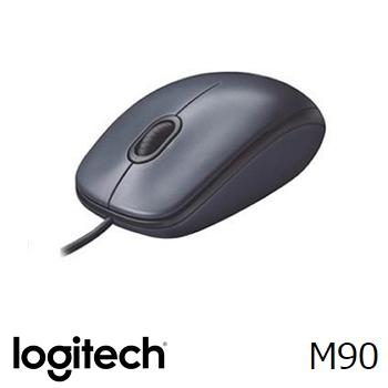 Logitech羅技 M90 2017 光學滑鼠(910-002340)