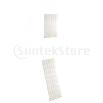 2本の薄い白いカーテンドレープフレンチドアパティオガラスドアショートロングパネル
