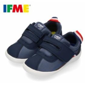 スニーカー イフミー ベビー IFME Light シューズ 22-9702 NAVY ネイビー キッズ 子供靴 ベルト ベルクロ 軽量