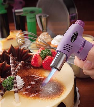 iroda 多用途料理噴火槍(粉紫)
