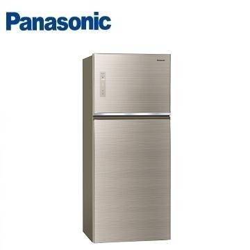 Panasonic 422公升玻璃雙門變頻冰箱(NR-B429TG-N(翡翠金))