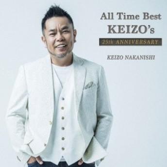 [枚数限定][限定盤]All Time Best ~KEIZO's 25th ANNIVERSARY(初回限定盤)/中西圭三[CD+DVD]【返品種別A】