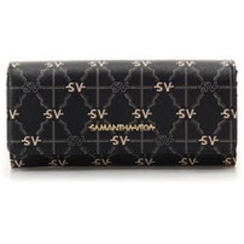 【Samantha Vega:財布/小物】モノグラム フラップ長財布