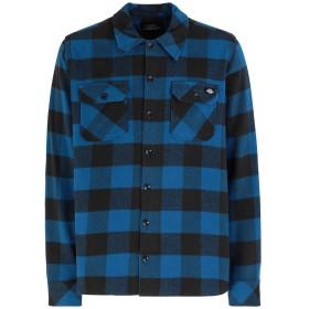 《セール開催中》DICKIES メンズ シャツ ブルー M コットン 100% SACRAMENTO
