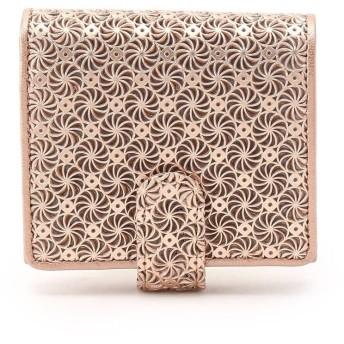 ヒロコ ハヤシ HIROKO HAYASHI GIRASOLE(ジラソーレ)薄型二つ折り財布 (ピンク)