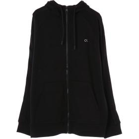 Calvin Klein men's Active Icon FZ Hoodie パーカー,Black