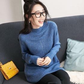 [マルイ]【セール】あぜ編みボトルネックニットチュニック/ベルーナ プラス(BELLUNA)