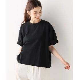 スピック&スパン MW クルーTシャツ レディース ブラック フリー 【Spick & Span】