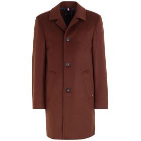 《期間限定セール開催中!》TOMMY HILFIGER メンズ コート ココア 46 ウール 80% / ナイロン 20% WOOL BLEND OVERCOAT