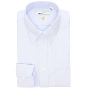 【THE SUIT COMPANY:トップス】【3BLOCK SHIRT】ボタンダウンカラードレスシャツ 織柄 〔EC・FIT〕