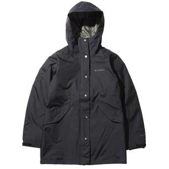 コロンビア(Columbia) レディース ビューティフルヒル ジャケット ブラック PL7088 010 アウトドアウェア カジュアル ライナー付き アウター 防寒