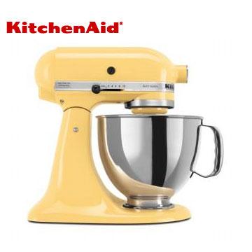 KitchenAid桌上型攪拌機-奶油黃(3KSM150PSTMY)